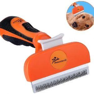 Jasonwell Cepillo para Perro deslanador